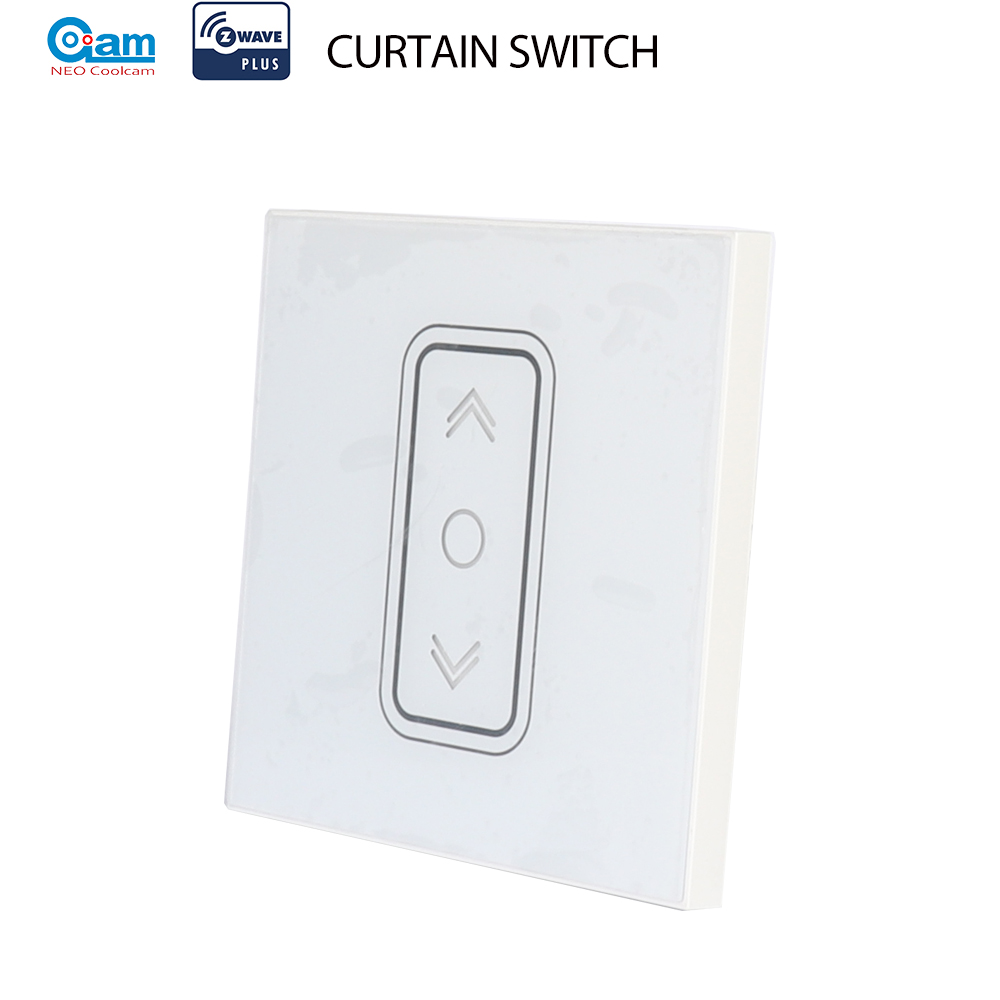 NEO Coolcam Smart Home Z Wave Plus Smart Curtain Switch for Electric Motorized Curtain Blind Roller