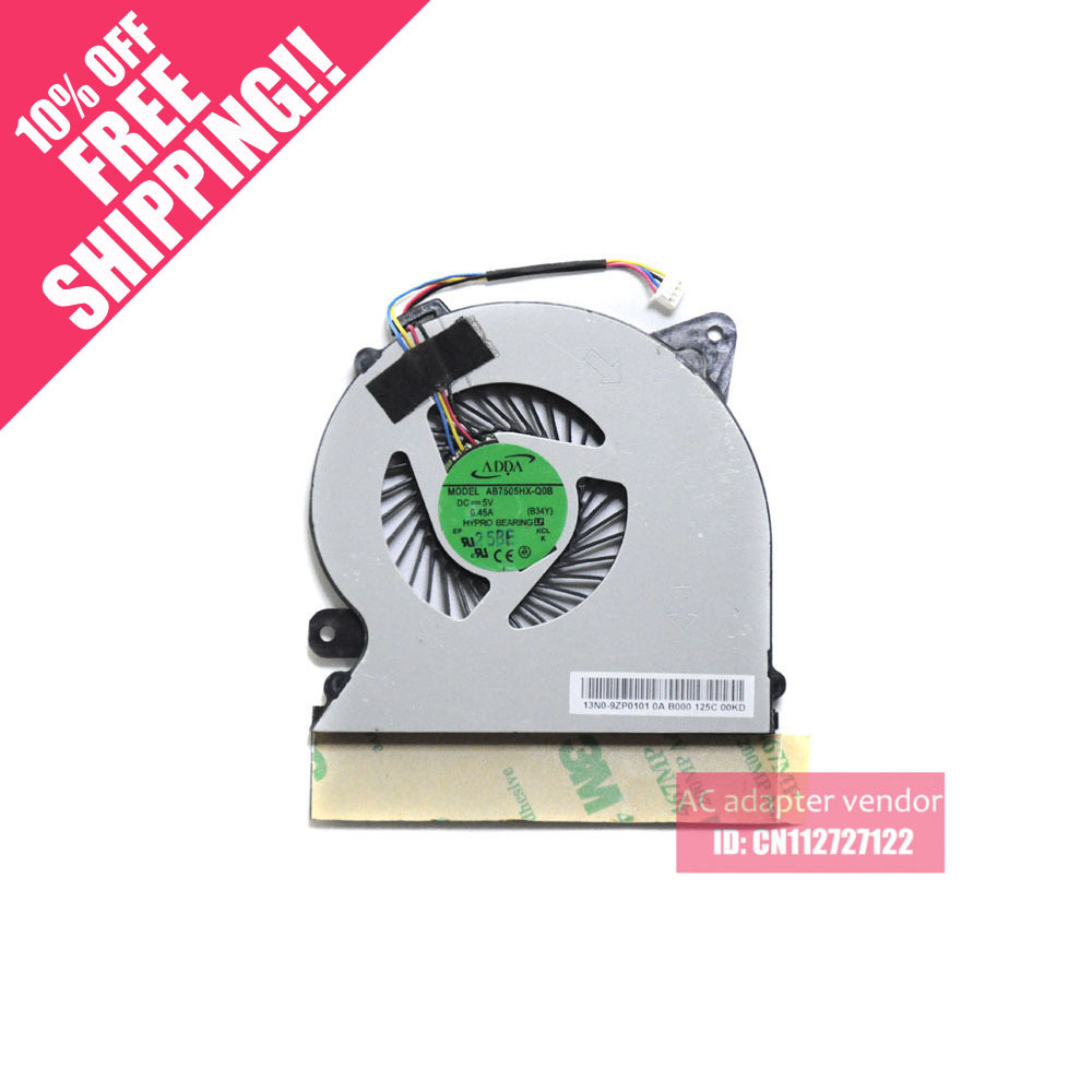 New original ADDA AB7505HX-Q0B 5V 0.45A notebook fan