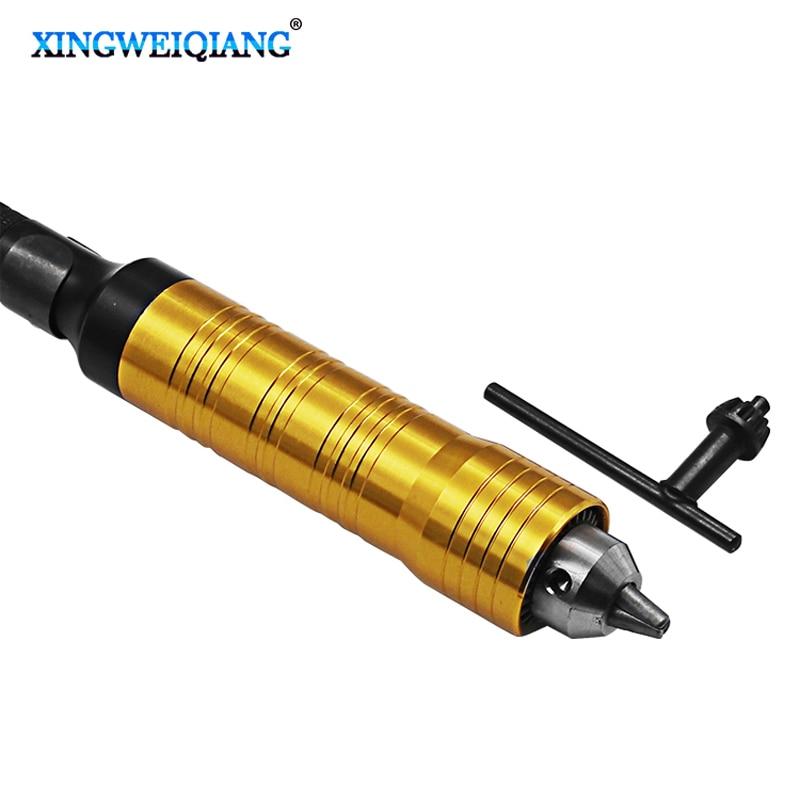 0.5-6mm Handle Rotary tools shaft accesorios Mini chuck for flexible shaft Handle grinder цены онлайн