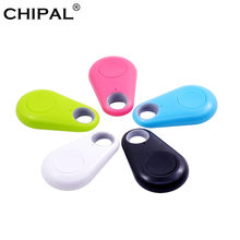 CHIPAL Bluetooth Key Finder Smart Anti Lost Device GPS Locator Tracker Tag iTag Alarm Localizado for Kids Pet Dog Cat Wallet Bag