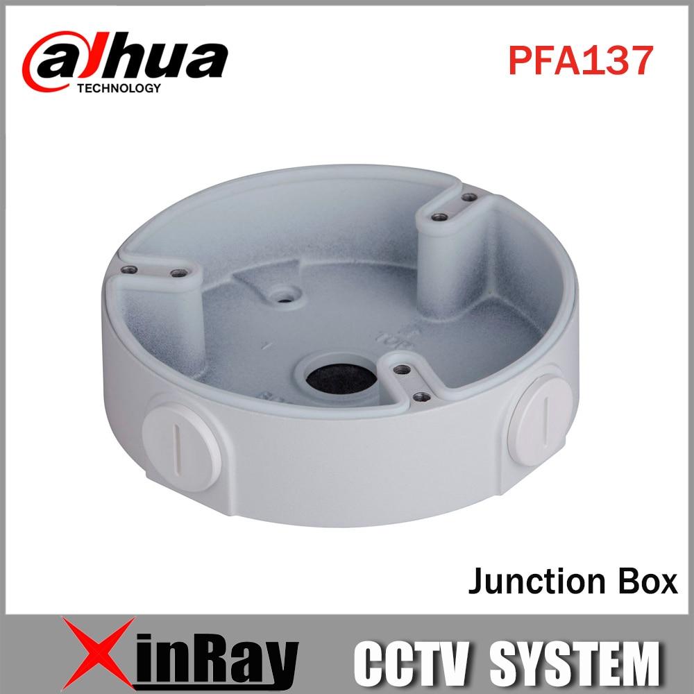 Dahua Waterproof Junction Box PFA137 for Dahua IP Camera IPC-HDBW4431R-S & IPC-HDBW4431R-ZS CCTV Mini Dome Camera DH-PFA137 dahua waterproof junction box pfa123