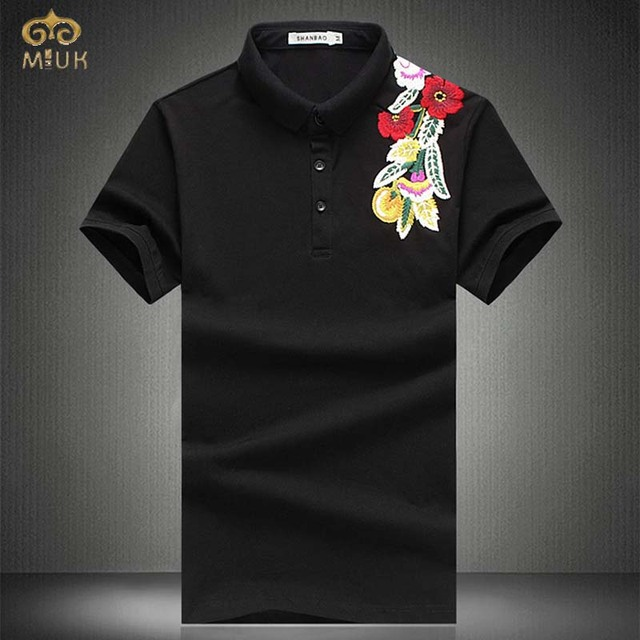 2017 Large Size 3D Print National Style Polo Men 6XL 5XL Summer Style Brand Clothing Cotton Polo Homme Black White Camisa Polo