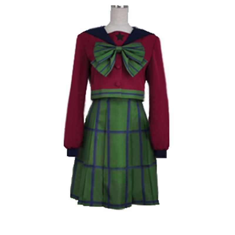 Сейлор Мун Michiru Kaiou / Hotaru Tomoe Sailor Uranus mugen gakuen, униформа для девочек, платье для косплея, костюмы на Хэллоуин с двумя бантами