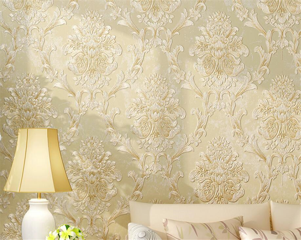 Beibehang Wallpaper Living Room Thick Nonwoven 3D Wallpaper Roll Relief Bedroom Full House TV Background wallpaper for walls 3 d shinehome sunflower bloom retro wallpaper for 3d rooms walls wallpapers for 3 d living room home wall paper murals mural roll