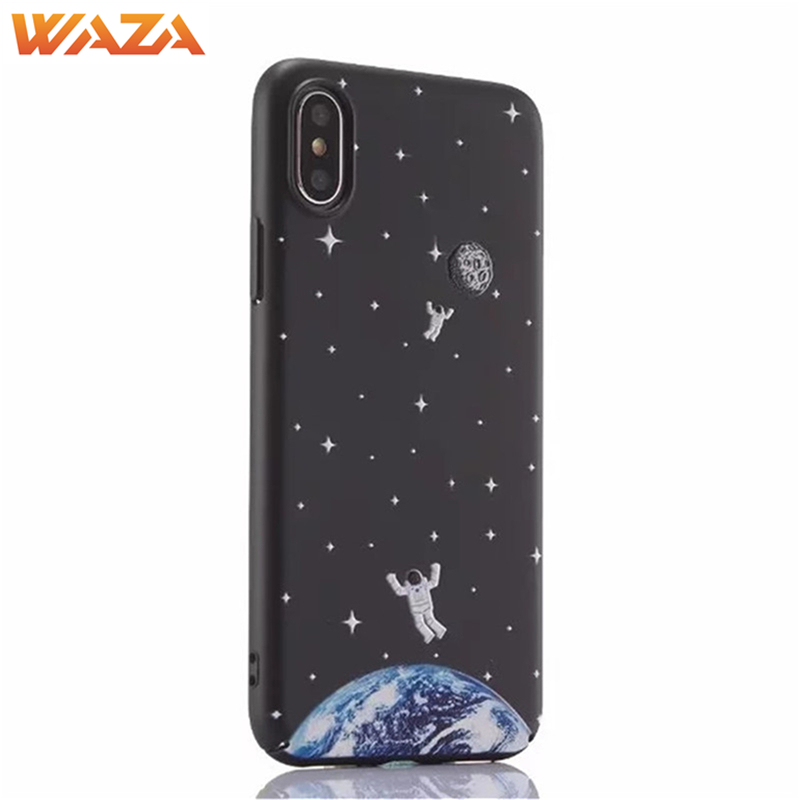 Waza Case Frosted Back Cover sky Hard PC for iPhone X / 8 / 8 Plus / 7 / 7Plus / 6s / 6s Plus / 6 / 6 Plus