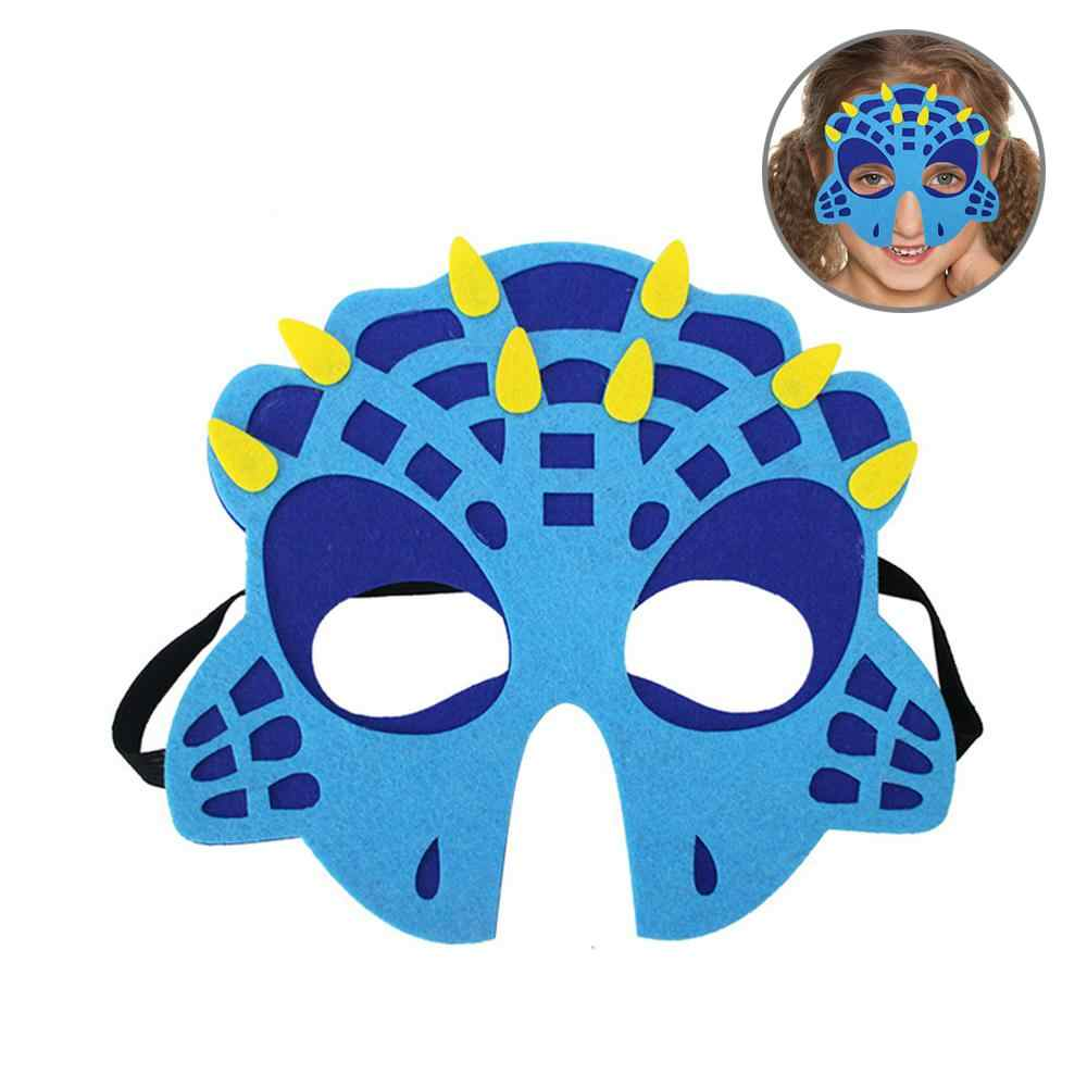Dinosaurus Masker Foonee Merasa Topeng Binatang Dinosaur Toys For Kids Party Dress-Up Cosplay Kostum Halloween Dekorasi