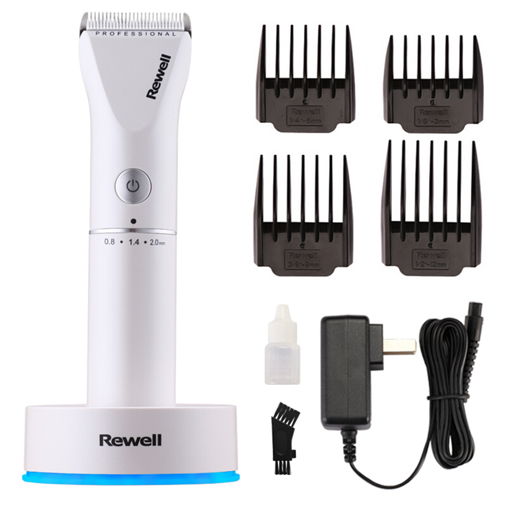 Professional Rechargeable Clipper Hair Trimmer Beard for Men Salon Electric Cutter Mower Ceramic Blade Hair Cutting Machine F16-in Hair Trimmers from Home Appliances    1