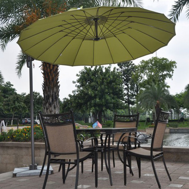 Small Lightweight Umbrella Rome Shun Yue Customized Aluminum Frame Unilateral Two Adjule Outdoor Shade Umbrellas