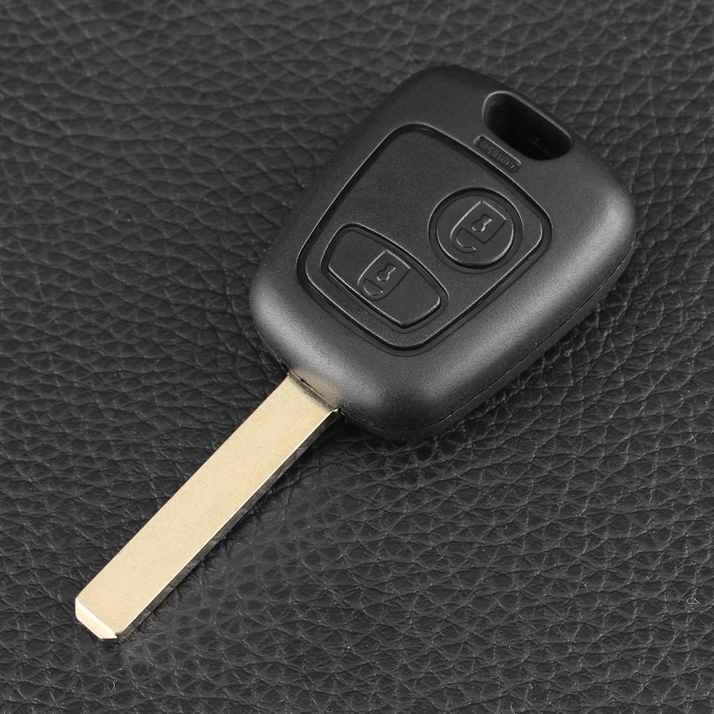 Chiave Telecomando per Peugeot 307 Citroen C1 C3 Car Key VA2 Blade With PCF7961 Chip 2 tasti 433MHZ
