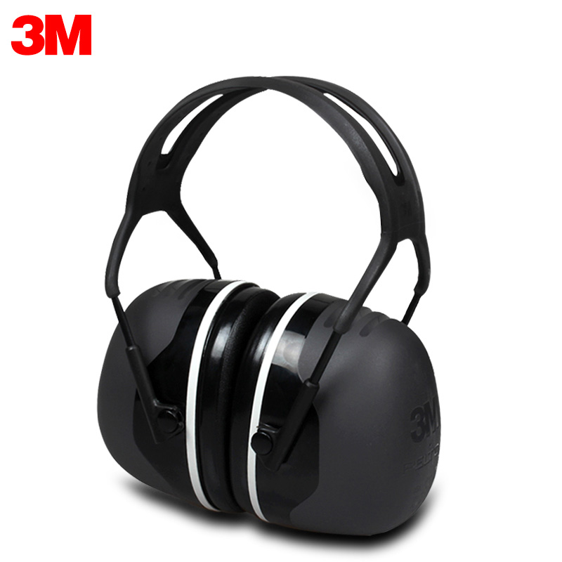 3M X5A Earmuffs Comfortable Sound Insulation Earmuffs Professional Anti noise Hearing Protector for Drivers Workers KU015