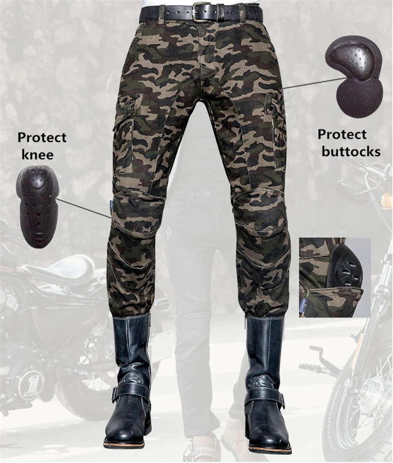 free delivery Uglybros camo UBS014 jeans motorcycle jeans men's racing pants moto pants Motorcycle protection pants free shipping 2017 uglybros straight casual jeans motorcycle protector pants men s moto pants racing pants with detachable prote