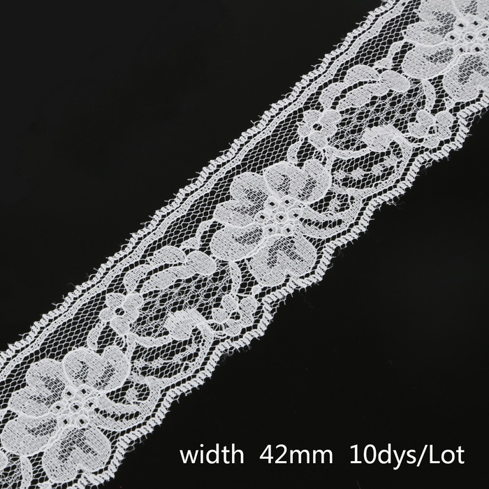 New 10Yards//Lot 13 Colors Handmade Patchwork Embroidered Lace Ribbon For Home DI