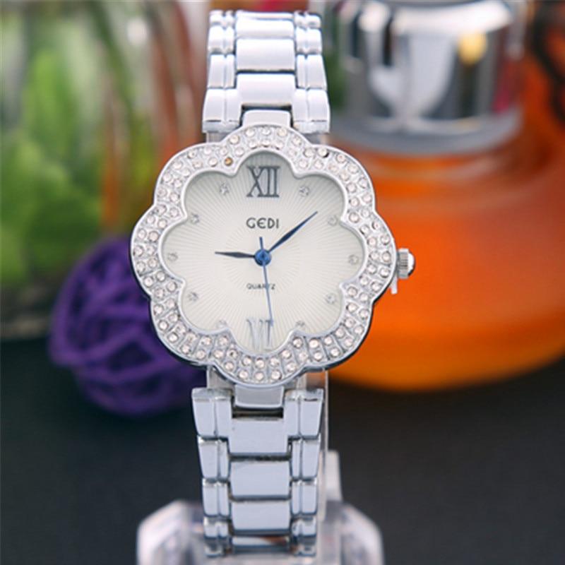 Womens Watches Top Brand  Fashion Ladies Watch Rose Gold Waterproof Diamond Casual Quartz