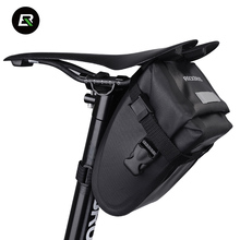 Rockbros Bike Bag Nylon Waterproof Bicycle Saddle Bag Black Yellow Cycling Rear Seat Tail Bag Bicycle Accessories Bolsa Ciclismo