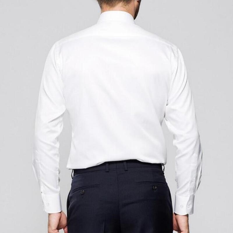 Clever Herrenhemd 2018 Marke Neue Frühling Langarm Anzüge Shirts Einfarbig Regular Fit Shirt Geschäfts Mens Dress Hemd Waren Jeder Beschreibung Sind VerfüGbar Hemden