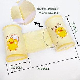 2016 baby Crib Bumper nursing pillow Anti-rollover Memory Foam Cute Cartoon Anti-roll Sleeper Pillow Sleep Positioner Insurance 2