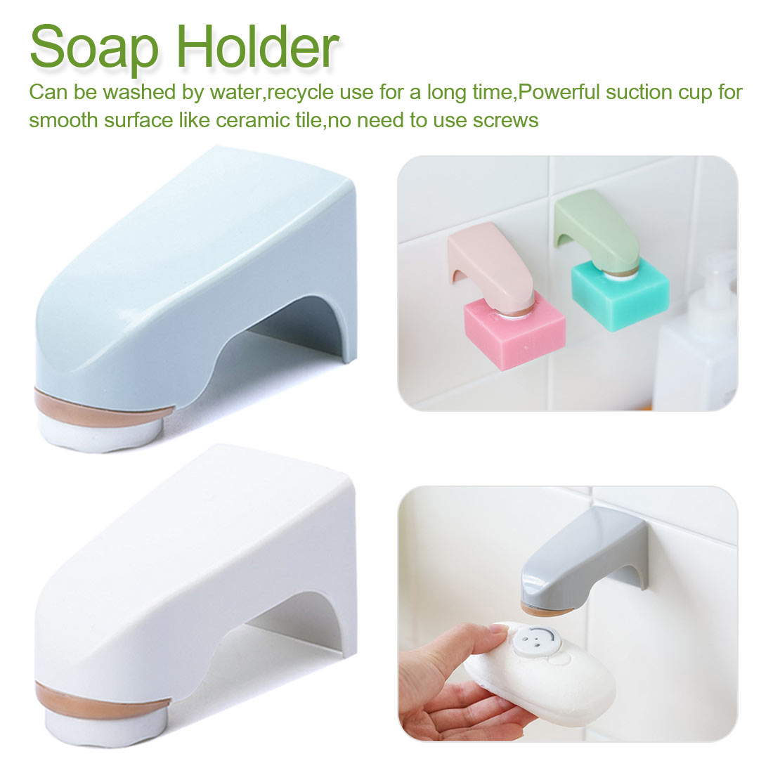 Magnet Magnetic Soap Holder Bathroom Soap Dishes Convenient  Prevent Rust Dispenser Adhesion Wall Attachment Dishes