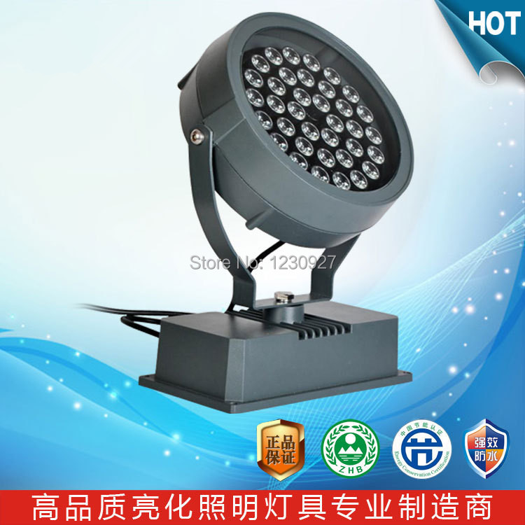 Wholesale price!Waterproof IP65 LED flood lamp 36W RGB colorful High lumens outdoor Landscape Lighting AC85-265V 30% off 2pcs ultrathin led flood light 50w black ac85 265v waterproof ip66 floodlight spotlight outdoor lighting free shipping