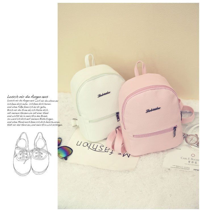HTB1iN5rcpqZBuNjt jqq6ymzpXao 2019 New Backpack Summer Small Women Backpack Candy Color Student Travel Shoulder Bags Teenager Girls Female Mochila Bagpack