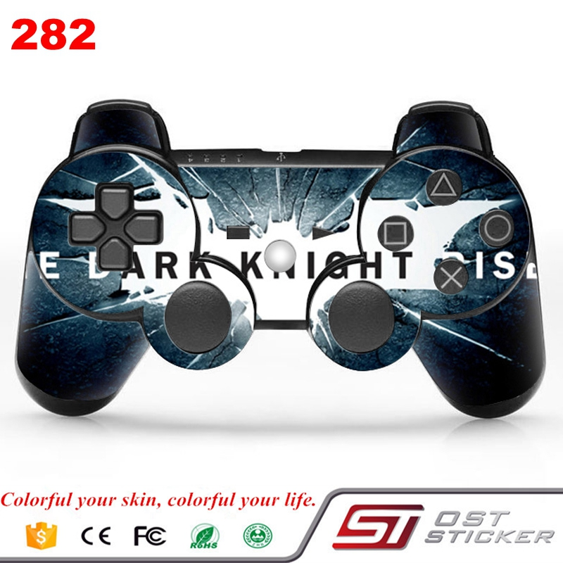 Batman vinyl decal for ps3 slim controller skin sticker for game accessories