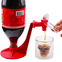 Upside Down Coke WaterCarbonated Drinks Dispenser Drinking Pour Drink With Switch  Faucet Party Bar Kitchen Gadget