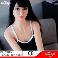 Cosdoll 165 см полный Размеры TPE Силиконовые Секс кукла с металлическим каркасом настоящий японский кукла любовь Интимные товары для Для мужчин ...