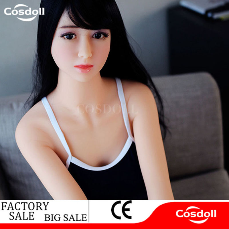 Cosdoll 165cm Full Size TPE Silicone With Skeleton Japanese Love Sex Doll Real Doll with Big Breasts Sex Products for Men Male plastic standing human skeleton life size for horror hunted house halloween decoration