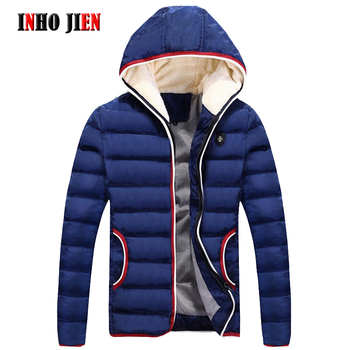 Winter Jackets Men New Brand Casual Mens Parkas Cotton Padded Hooded Outwear Coats Warm Thick Autumn Jackets Male Street Clothes