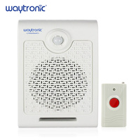 a4b6cb5c9 Wall Mount High Power PIR Motion Sensor Button Activated Sound Amplifier  Speaker For Safety Attention Blind