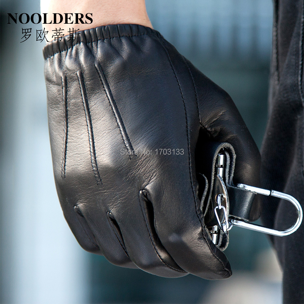 Mens leather gloves thin - Aliexpress Com Buy Men Leather Driver Gloves Male Touch Screen Fashion Leather Gloves Male Thin Sheepskin Leather Winter Motorcycle Gloves From Reliable