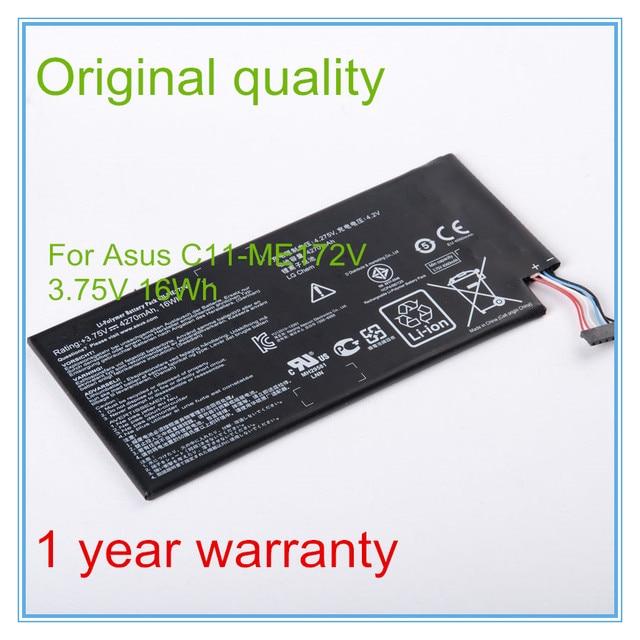 "3.75V 4270mah Original Laptop Battery for C11-ME172V For ME172V 7"" Tablet PC"