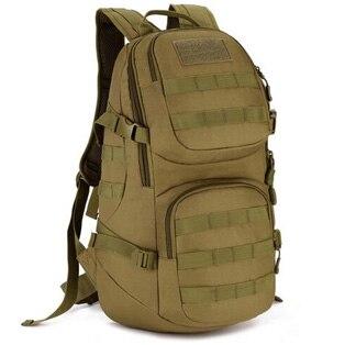 Livraison gratuite hommes femmes unisexe en plein air militaire tactique sac à dos Camp randonnée sac à dos 40L MOLLE grand grand matériel ergonomique