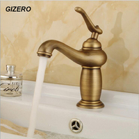 Newly Bathroom Antique Faucet Basin Sink Mixer Latin Deck Mounted hot and cold water tap ZR122
