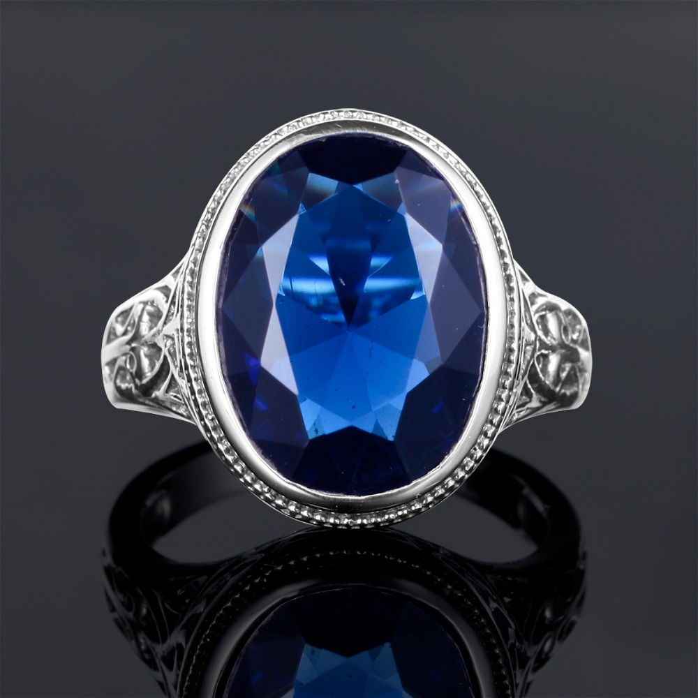 shipping fast engagement blue yellow diamond size ring cut cushion worldwide sapphire gold itm