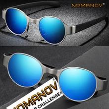 AL-MG Round Tr90 Comfortable Leg Men Women Polarized Mirror Sunglasses Custom Made Nearsighted Minus Prescription Lens -1 to -6