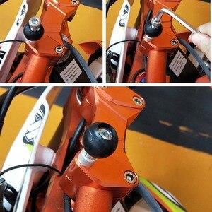 Image 3 - JINSERTA Base de abrazadera para manillar de motocicleta, 1 pulgada, Bola de 25mm con tornillos M8 para montaje Ram, Gopro, cámaras de acción, teléfono móvil