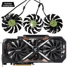 95mm T129215BU DC 12V 0.55A PLD10015B12H GTX1070 GTX1080 Quạt GIGAYTE AORUS GeForce GTX 1080Ti Xtreme Phiên Bản Video thẻ quạt