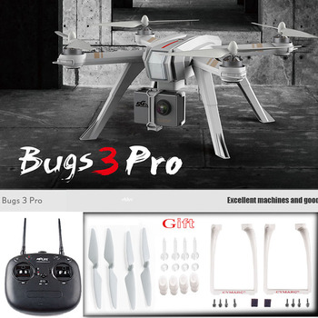 Newest MJX Bugs 3 Pro Drone with 1080  4K Wifi FPV Camera Rc Helicopter GPS Follow me mode brushless Quadcopter can carry Eken drone x pro