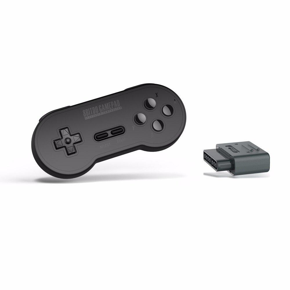 8bitdo SN30 Ensemble Rétro Bluetooth Contrôleur bluetooth Gamepad android avec Bluetooth Récepteur Adaptateur pour Nintendo SNES SF-C SF30