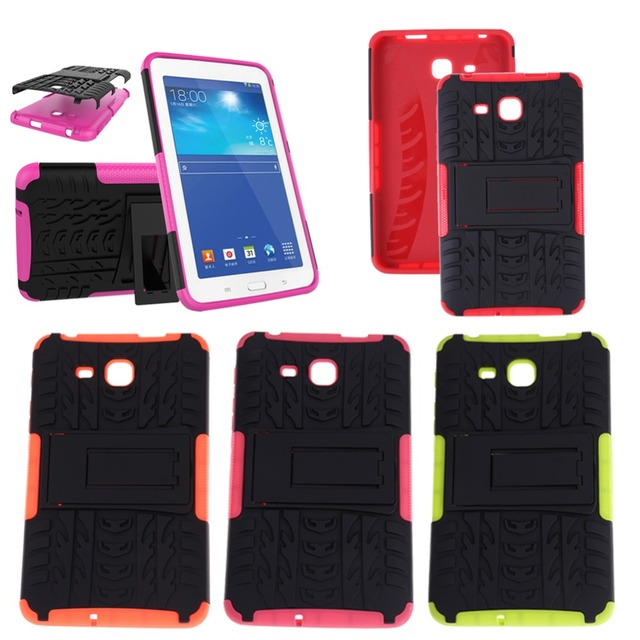 "7"" Anti-dust Heavy Duty TPU Tablet Protecter Hard Case Cover for Samsung GALAXY Tab A 7.0 2016 T280 T285 Pad PC Accessories"