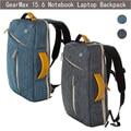 Laptop Backpack/ Bag, 15.6 inch GearMax Water Resistant Convertible Laptop Canvas Briefcase Backpack KnapSack Dual Shoulder Bags
