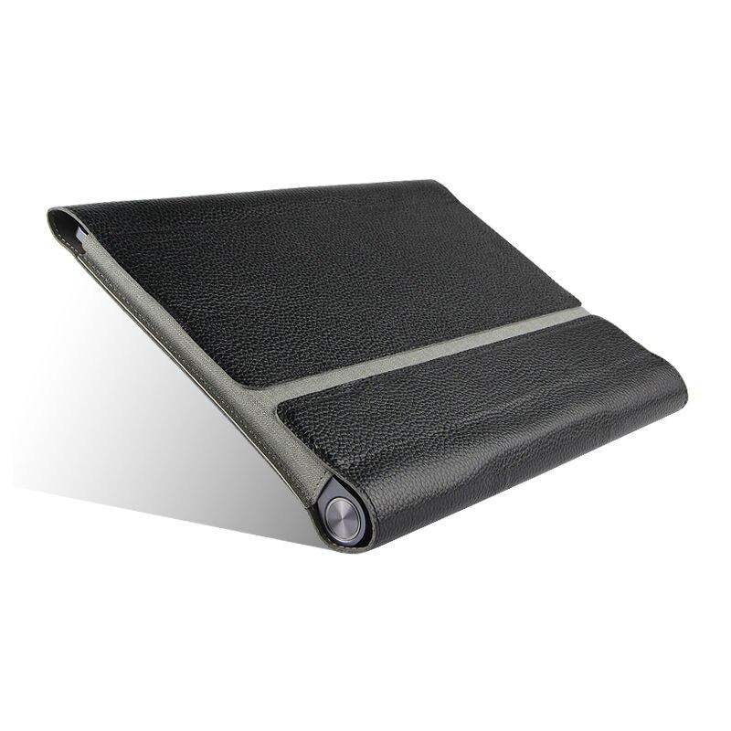 Inek Derisi Için Lenovo YOGA Tab 3 10X50F X50M Kılıf Kapak - Tablet Aksesuarları - Fotoğraf 4