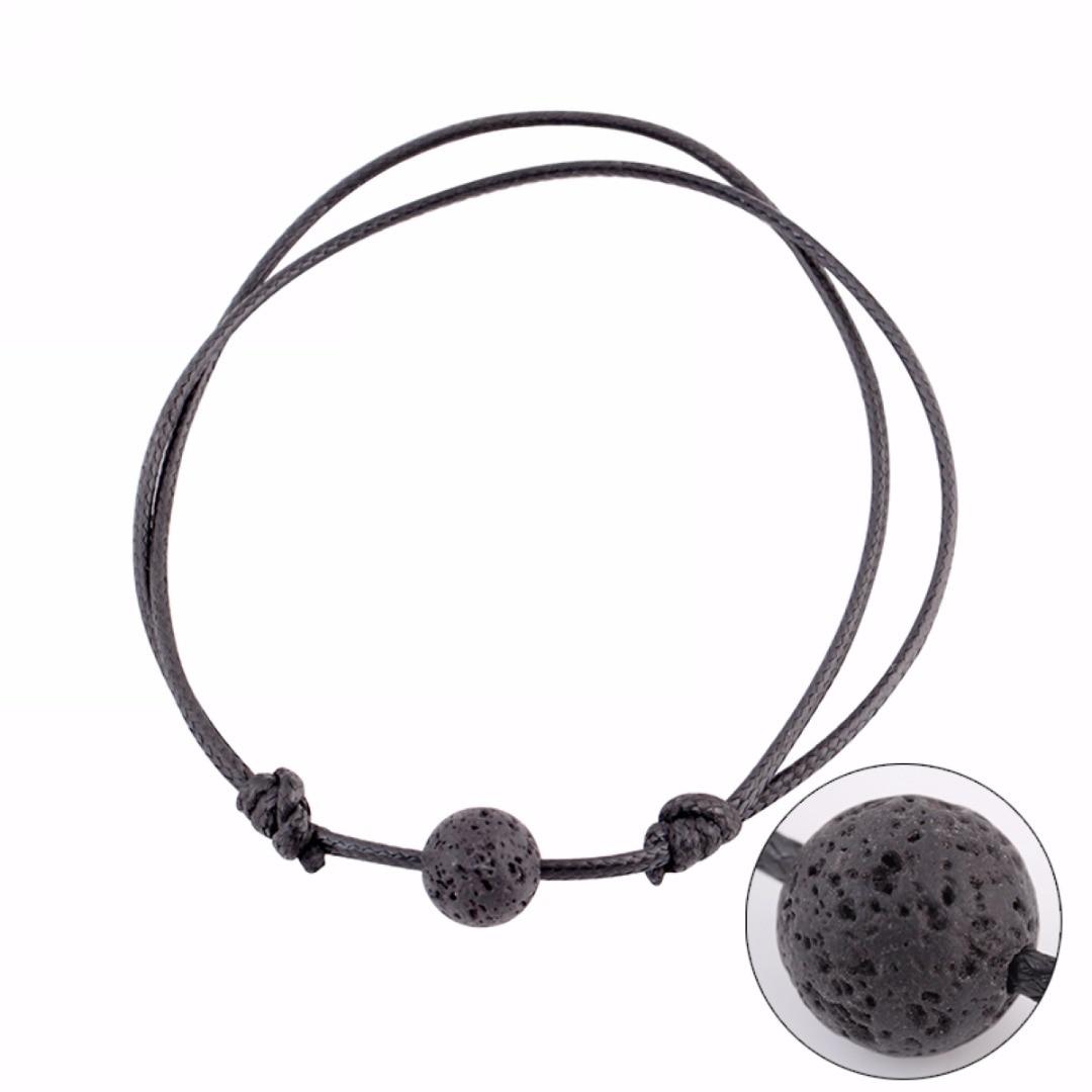 Men S Lava Stone Beads Bracelets Amp Bangles Fashion