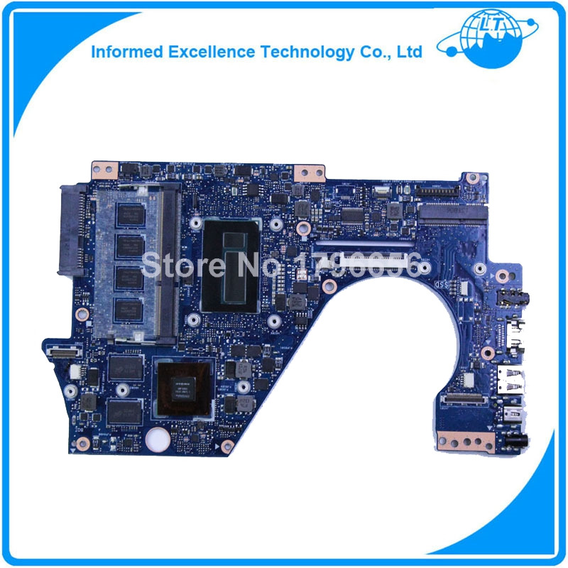for ASUS UX302LG Laptop Motherboard (System board/Mainboard) i7-4500U CPU 2G fully tested 90days warranty 42c8019 server board system board mainboard for x100 tested working