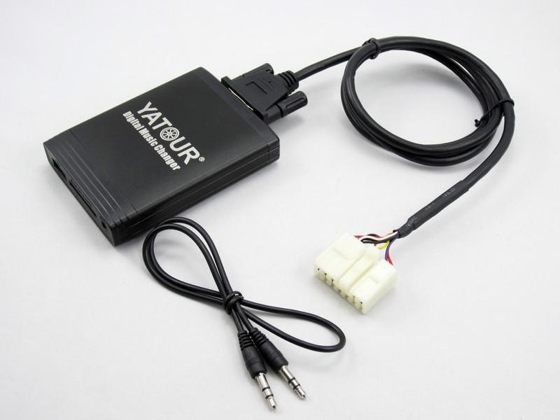 Image 5 - Yatour for Toyota Lexus1998 2004 Car Digital  Music Changer USB  MP3 AUX adapter IS 200/250 GS 300/430  GX 470 LX470 RX300 LS  430lx470yatour civicyatour