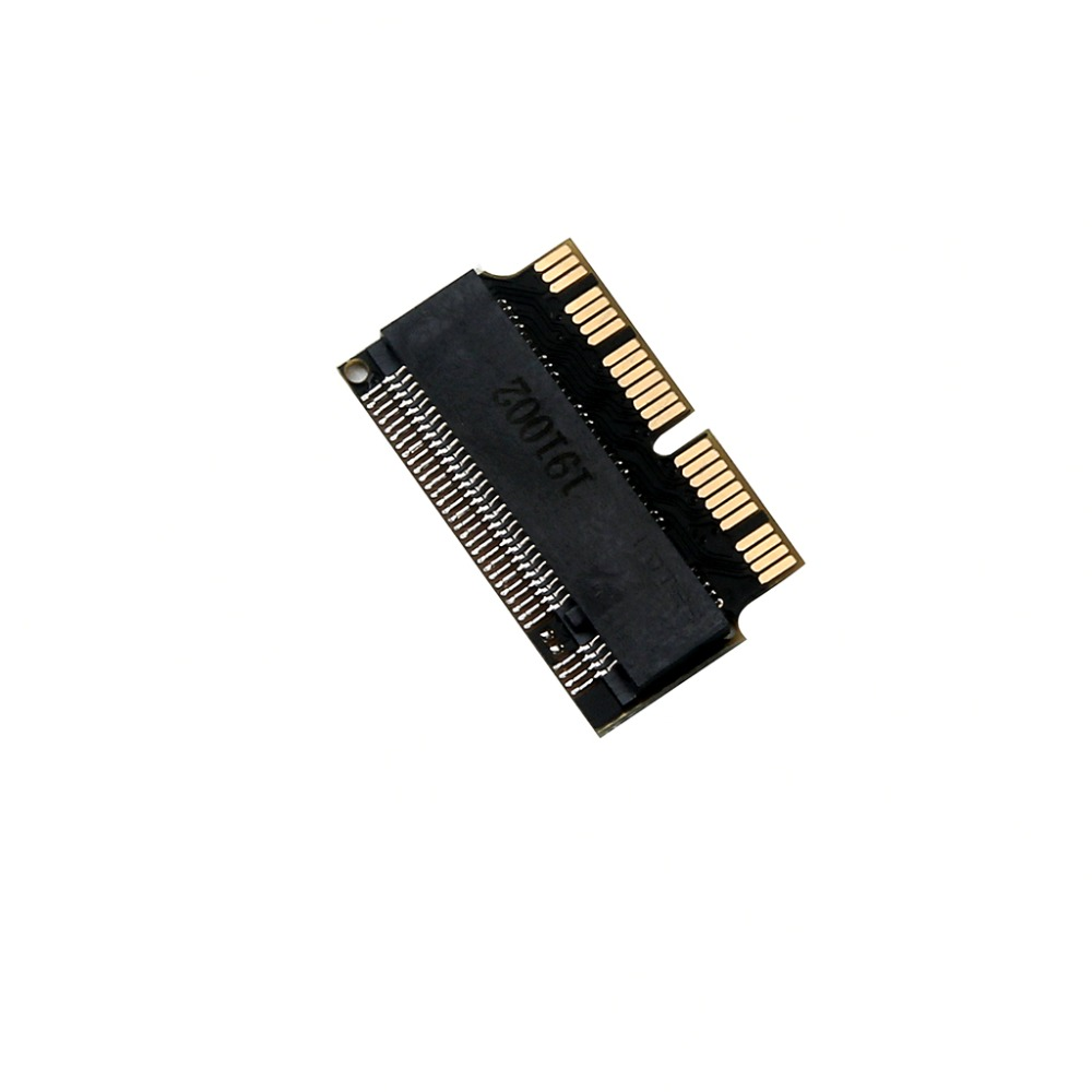 L Add On Cards PCIE To M2 Adapter M.2 SSD PCIE Adapter SSD M2 Adapter M.2 NGFF AHCI 2280 SSD 12+16 Pin For Macbook Air 2013