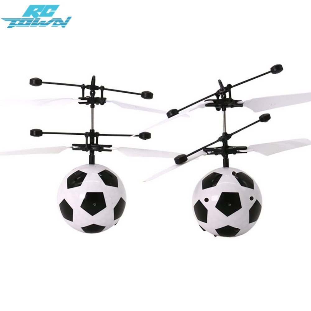 RCtown LED Remote Flying Globe/Soccer Flying RC Drone Helicopter Induction Mini Aircraft for Kids/Teenager Toys zk30