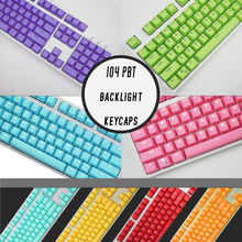 PBT Switches Keyboard-Key-Cap Mechanical Cherry Mx Color-Choices for English-Languag108