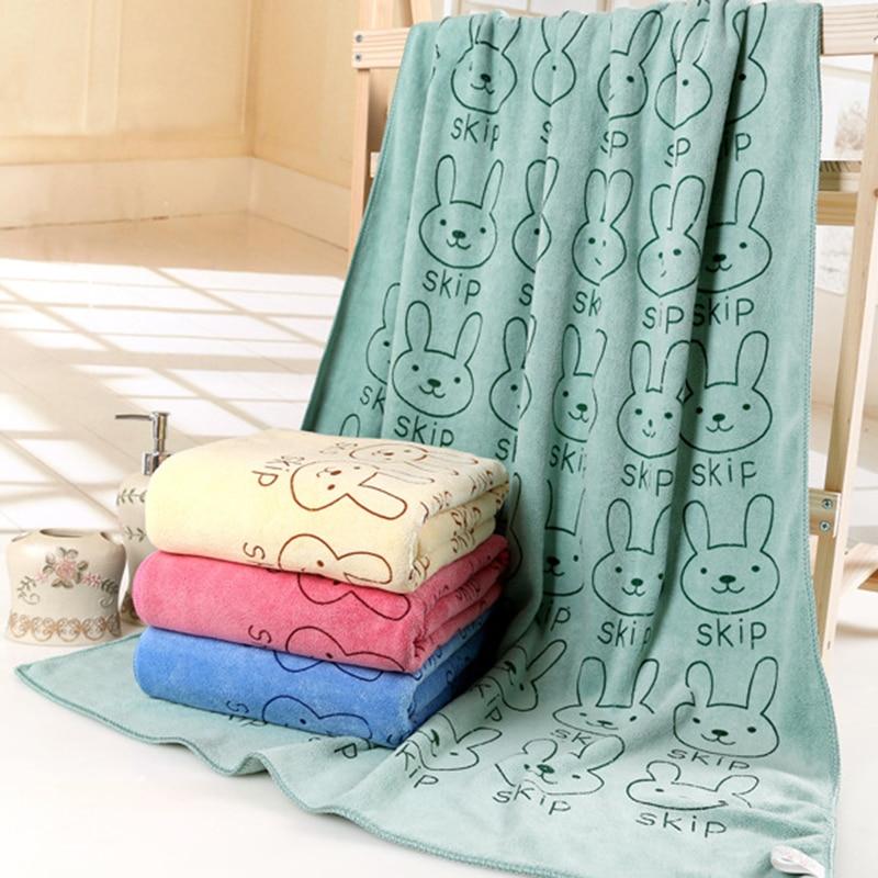Pattern 70*140 Microfiber Towel Thickening Super Soft Absorbent Drying Bathrobe Bath Fast Magic Bath Towels Beach Spa Bathrobes