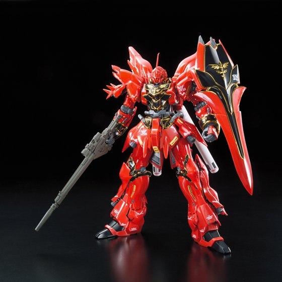 Bandai Gundam RG Original Japan Anime Action Toy Figures Christmas Gift Assemble Model Robot 1/144 Sinanju HGD 207590
